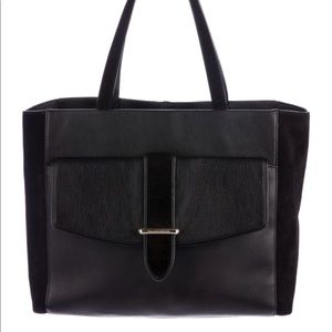 Kate Spade Hunts Place Roselyn Black Leather/Suede